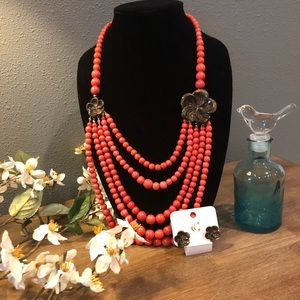 Jewelry - 🌸Charming Charlie Necklace and Earring Set